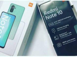 xiaomi redmi note 10 128GB 6RAM (novos selados)